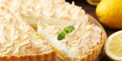 Alerta gulosos! Tarte de limão merengada feita em meia hora